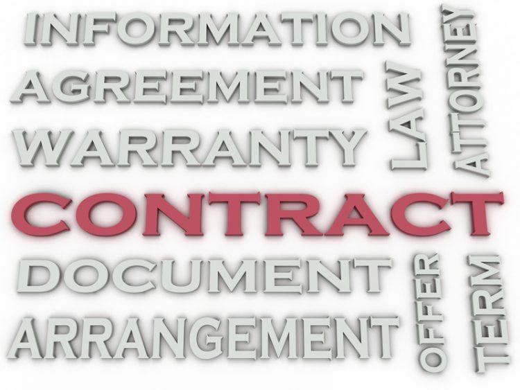 traduzione di un contratto in inglese britannico o US